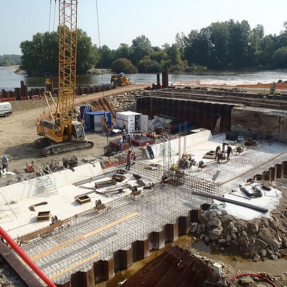TOURNAUD - Restauration du Barrage des Lorrains - Apremont sur Allier - Cher