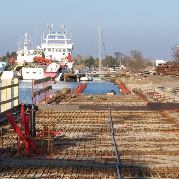 BUESA rénovation du port de pêche du grau d'agde 2009