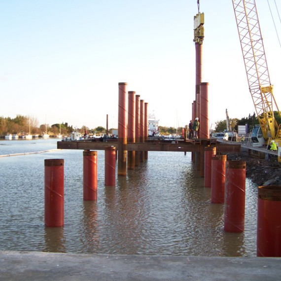 BUESA - rénovation du port de pêche du grau d'agde 2007