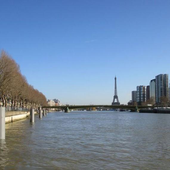 CHARIER - Mise en oeuvre de ducs d'Albe - Port d'Auteuil et Bourdonnais Paris - 2015