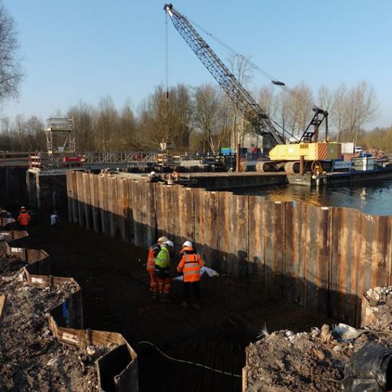 CHARIER - Reconstruction du barrage d'Hangest sur Somme - 2014.2015
