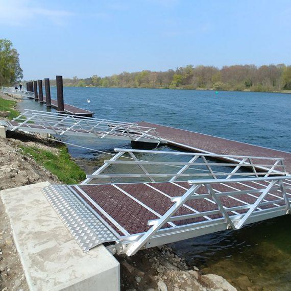 MAIA FONDATIONS Création de ponton à Geisswasser