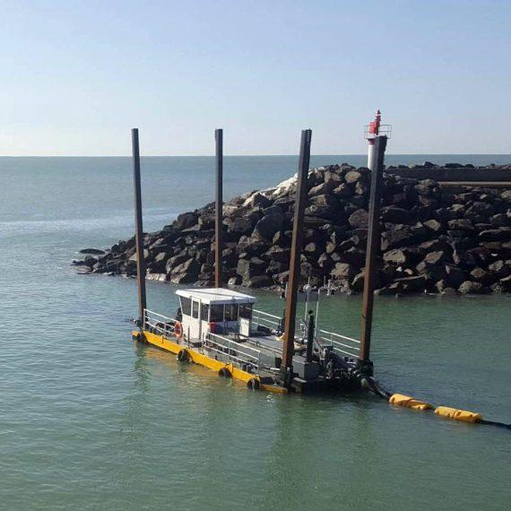MARC SA Dragage port de Talmont Saint Hilairel