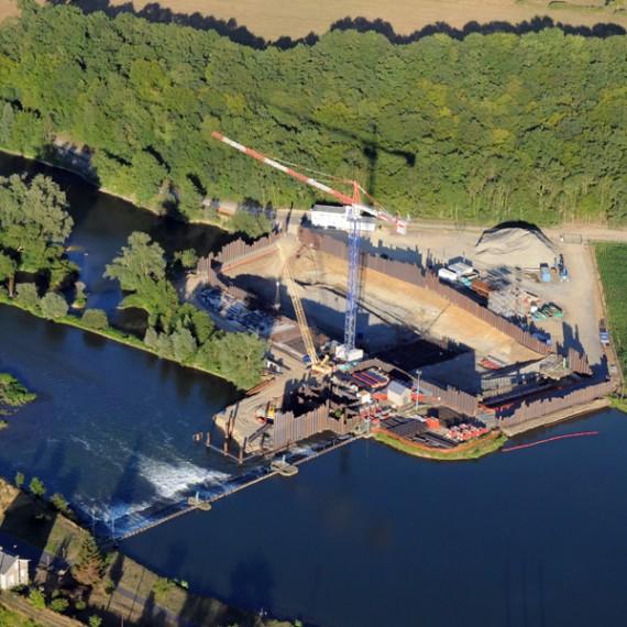 EMCC TOURNAUD barrage de ham-sur-meuse - cbameo christian galichet