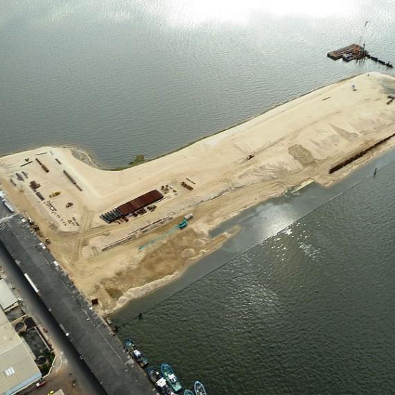EMCC - Construction d'un Môle de pêche - Port d'Abidjan 2015
