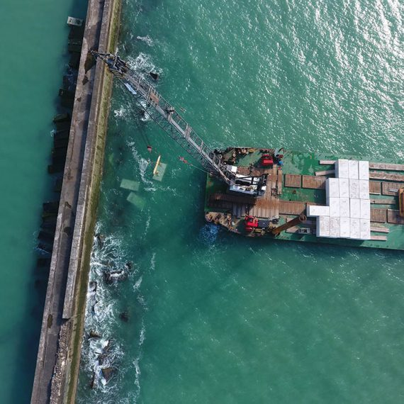 ETMF-Renforcement de la Digue Carnot à Boulogne sur mer