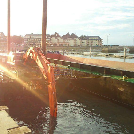 MARC SA - Dragage port de GRANDCAMP MAISY