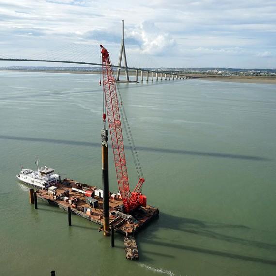ETPO - Ducs d'Albe - Ponton NEVEZ Pont de Normandie 2014