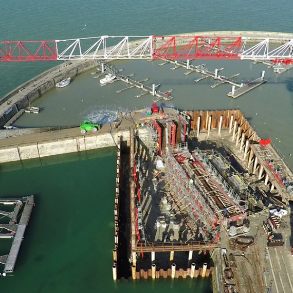 ETCHAR CONSTRUCTION port de la flotte-en-ré 2015-2016