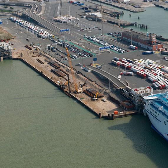 Spie batignolles nord - Port de Calais - Reconstruction du Poste 7 2014