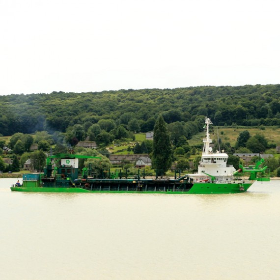 SDI amélioration des accès au port de rouen 2014