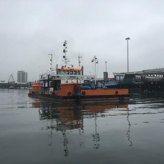 SODRANORD dragages d'entretien des ports de calais et boulogne 2015-2016