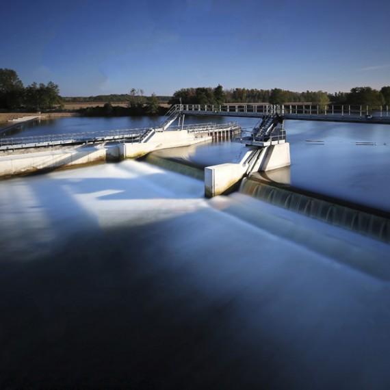 TOURNAUD restauration du barrage des lorrains à hausse-aubert 2015