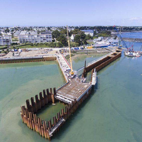VCMF - Aménagement et rénovation Port Haliguen