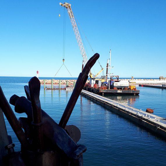 VCMF - Travaux de rénovation et sécurisation port Banyuls