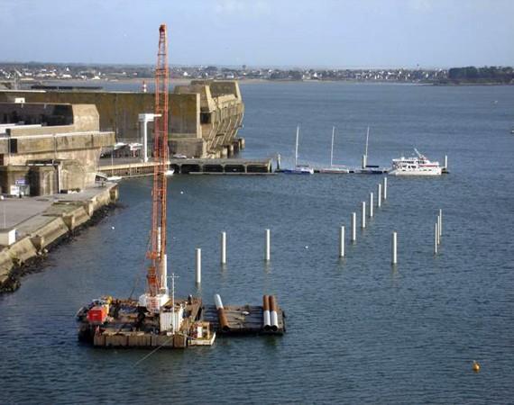 EIFFAGE - Extension base sous-marine - 2011