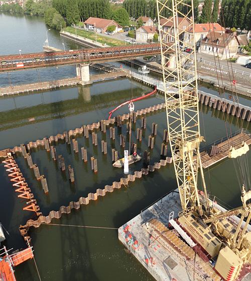 BOUYGUES TP RF - Barrage de Venette - 2010