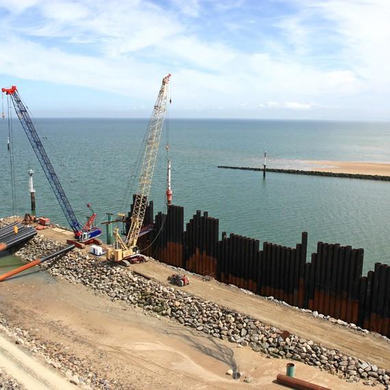 EMCC - Port de Ouistreham - Extension du terminal aval - 2013