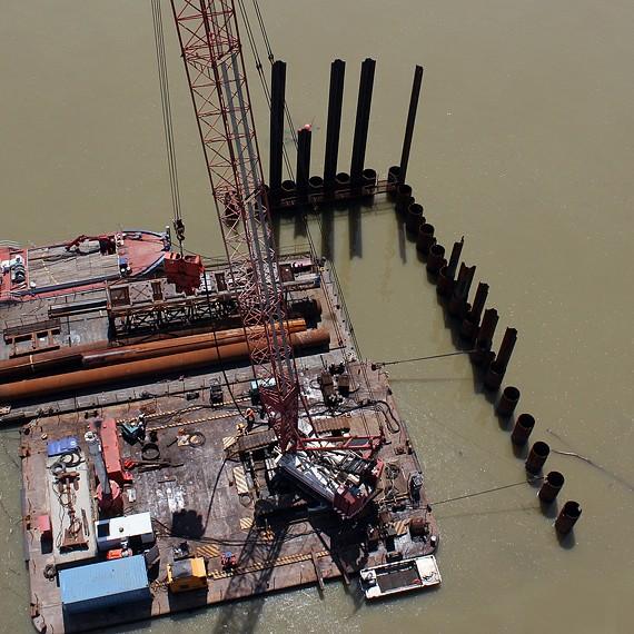 EMCC - Quai Castel Bayonne - Construction d'un nouveau quai - 2013