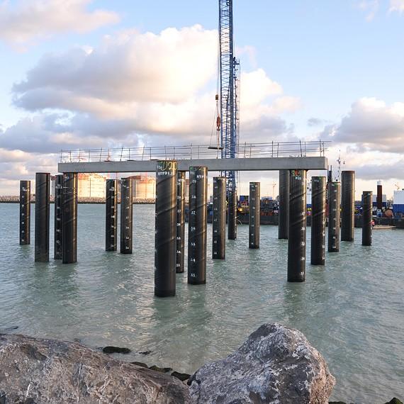 EMCC - Terminal méthanier de Dunkerque - Construction d'un appontement pour méthaniers - 2013