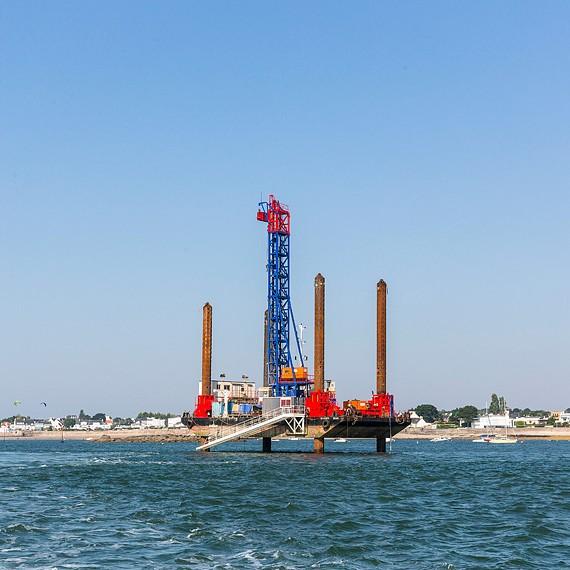 EMCC - Port de Lorient - Approfondissement de la passe ouest du chenal par déroctage