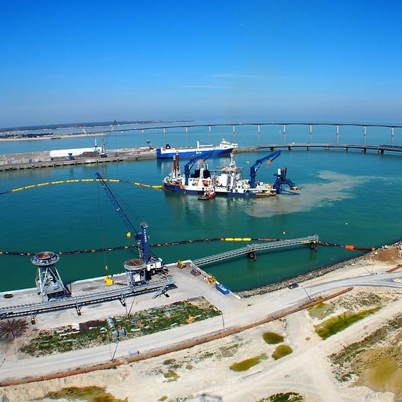 SODRANORD - Grand Port maritime de la Rochelle - Déroctage des accès nautiques - 2013