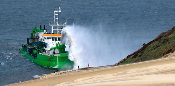 SDI - Pyla-sur-Mer - Réensablement des plages