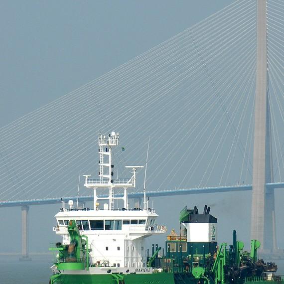 SDI - Approfondissement de la Seine - Amélioration des accès au Grand Maritime de Rouen - 2012
