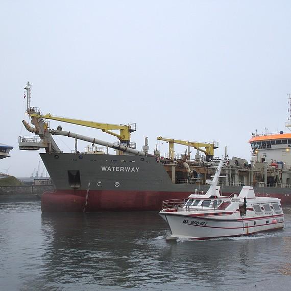 ATLANTIQUE DRAGAGE - Entretien des accès au Port de Boulogne-sur-Mer - depuis 2007