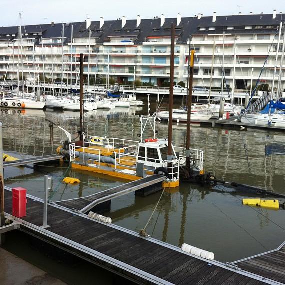 MARC SA - Dragage du port de La Baule - Le Pouliguen - 2012/2013