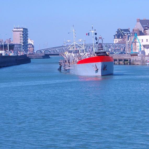 Eco Systèmes de Dragage - Dragage d'entretien du Port Dieppe - 2009/2013