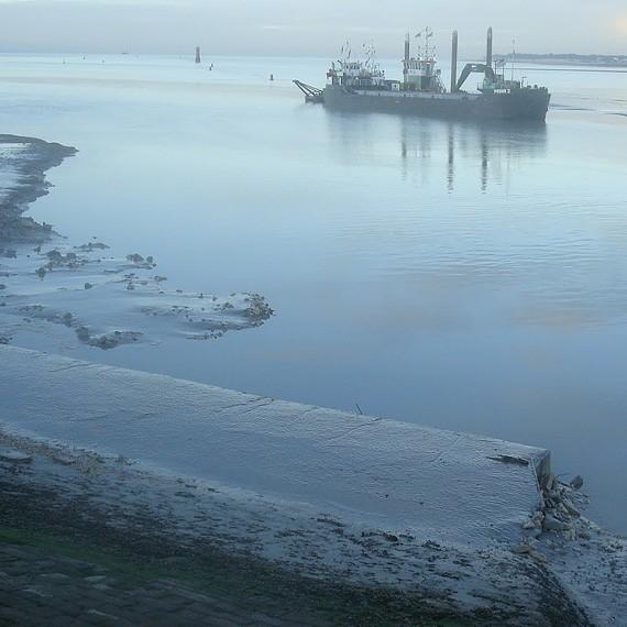 Eco Systèmes de Dragage - Dragage pour l'extension du port des Minimes à La Rochelle - 2011/2012