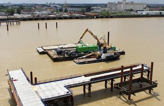 SDI - Construction du Pont mobile Bacalan - Bastide