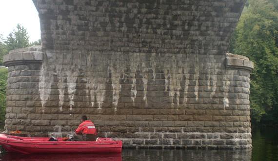 HYDROKARST - Réparation des appuis immergés par scaphandriers - Limoges - 2011