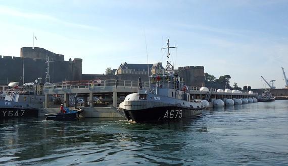 CHARIER - Quai des Flotilles - Brest - 2009