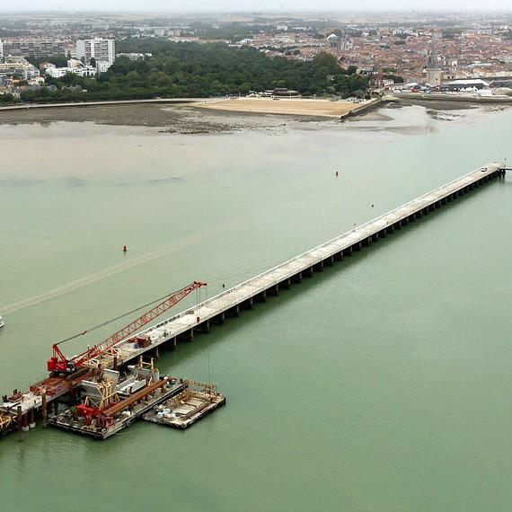 ETPO - Extension Port de Minimes La Rochelle - Réalisation d'une digue - 2012/2014
