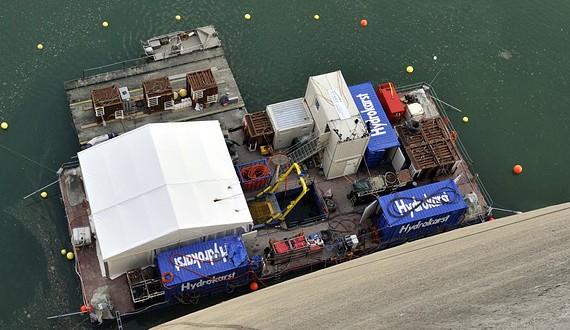 HYDROKARST - Pose d'obturateurs en plongée à saturation -60m - Barrage de l'Hongrin, Suisse - 2011/2012