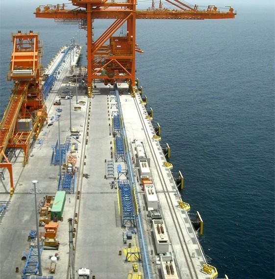 SAIPEM - Port de Sohar - Sultanat d'OMAN - 2009