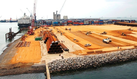 SAIPEM - Port Autonome de Pointe-Noire - Congo - 2010