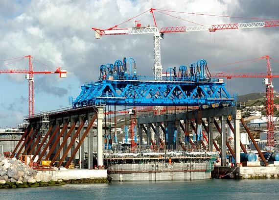 SAIPEM - Terminal Conteneurs - Port de Tanger - Maroc - 2013