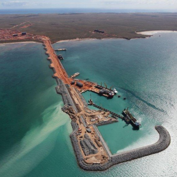 SAIPEM - LNG Jetty and Marine Structure - Barrow Island, Australia - 2014