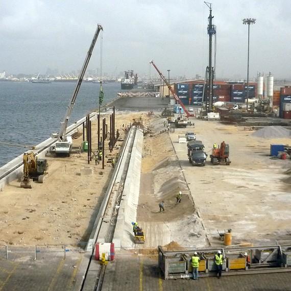 EMCC - Confortement de quai - Abidjan - 2013
