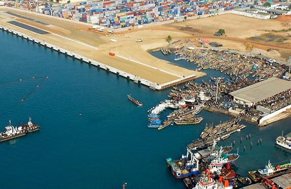EMCC - Construction d'un nouveau quai - Port de Lomé au Togo - 2013