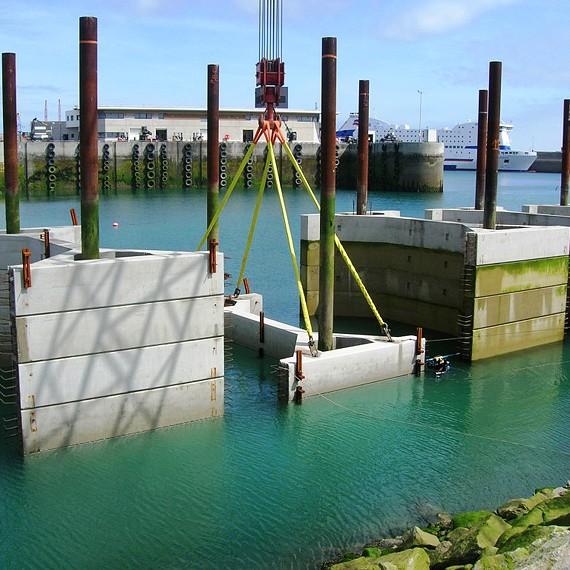 CHARIER - Port de Roscoff - 2012