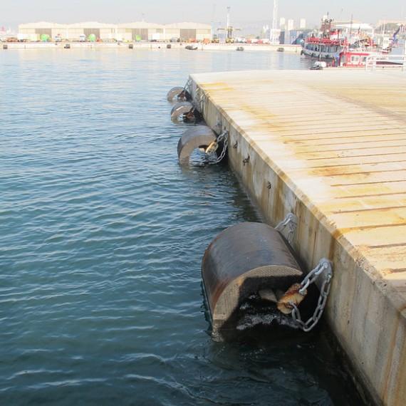 HYDROKARST - Maintenance des défenses cylindriques et de type Gibraltar sur les bassins Est - Grand Port Maritime Marseille - 2011/2015